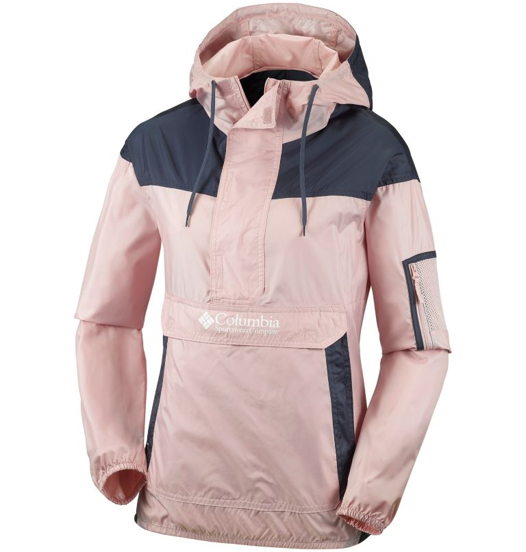 Challenger™ Windbreaker | 618 | L Giacca a vento Challenger™ da donna, Mineral Pink, Nocturnal, front