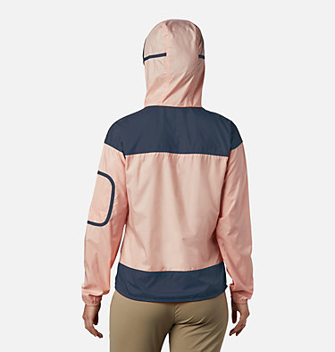Women's Challenger™ Windbreaker Challenger™ Windbreaker | 010 | XL, Peach Cloud, Nocturnal, back
