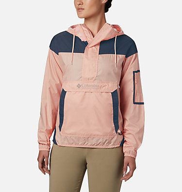 Women's Challenger™ Windbreaker Challenger™ Windbreaker | 010 | XL, Peach Cloud, Nocturnal, front