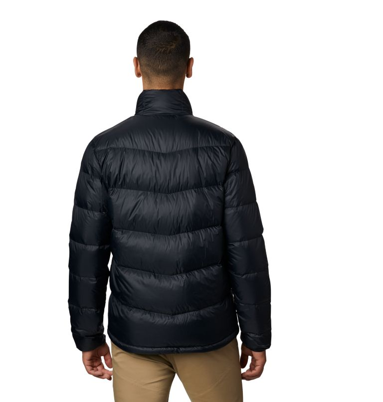 Mt. Eyak™ Down Jacket | 010 | XXL Men's Mt. Eyak™ Down Jacket, Black, back