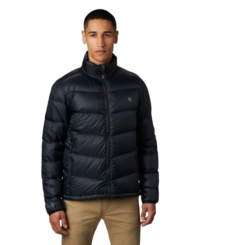 Mt. Eyak™ Down Jacket | 010 | XXL Men's Mt. Eyak™ Down Jacket, Black, front