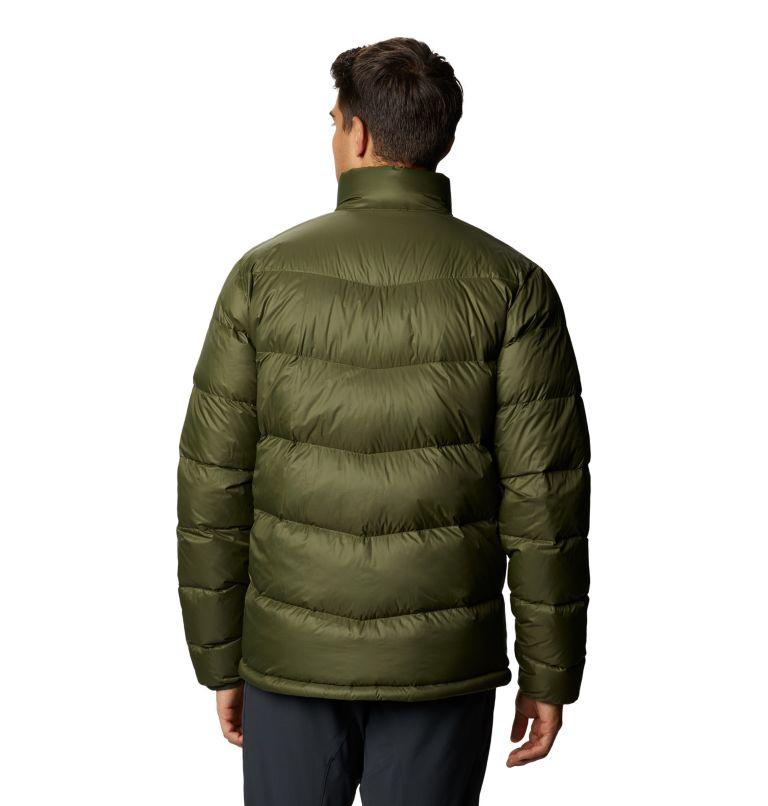 Mt. Eyak™ Down Jacket | 305 | XXL Men's Mt. Eyak™ Down Jacket, Dark Army, back