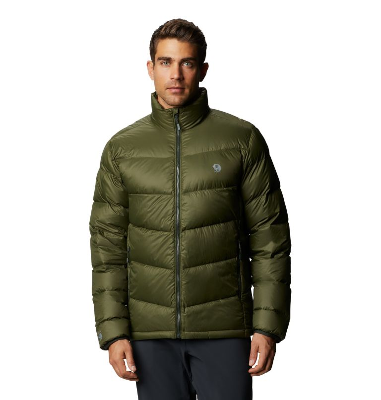Mt. Eyak™ Down Jacket | 305 | XXL Men's Mt. Eyak™ Down Jacket, Dark Army, front