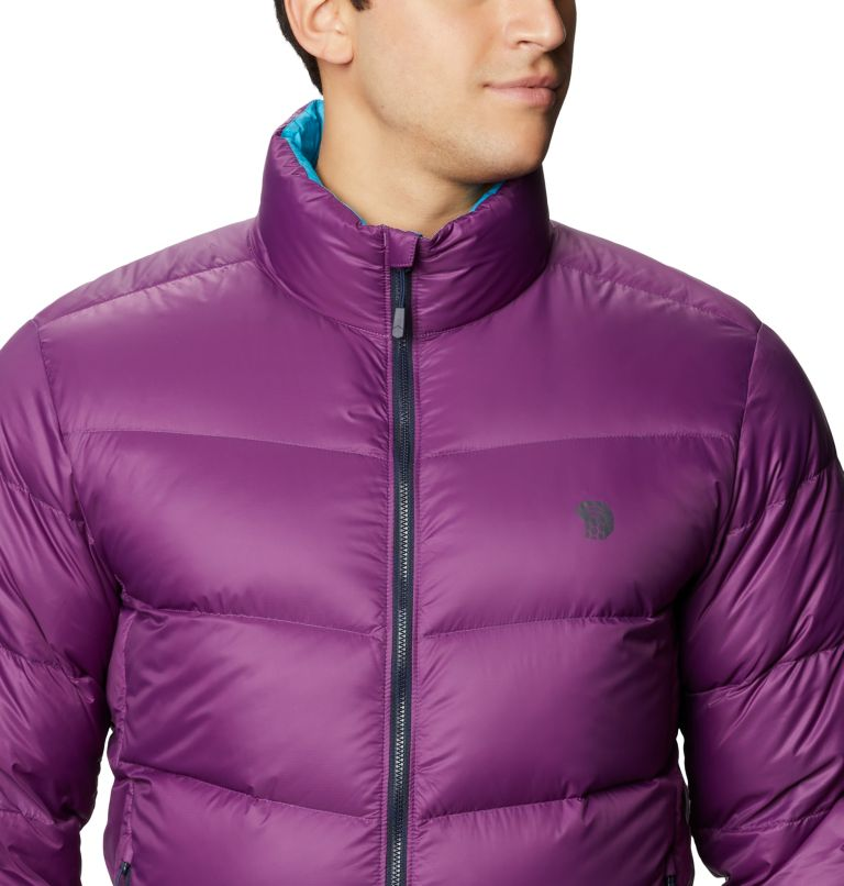 Mt. Eyak™ Down Jacket | 502 | XXL Men's Mt. Eyak™ Down Jacket, Cosmos Purple, a2