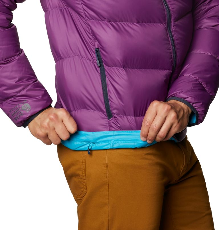 Mt. Eyak™ Down Jacket | 502 | XXL Men's Mt. Eyak™ Down Jacket, Cosmos Purple, a3