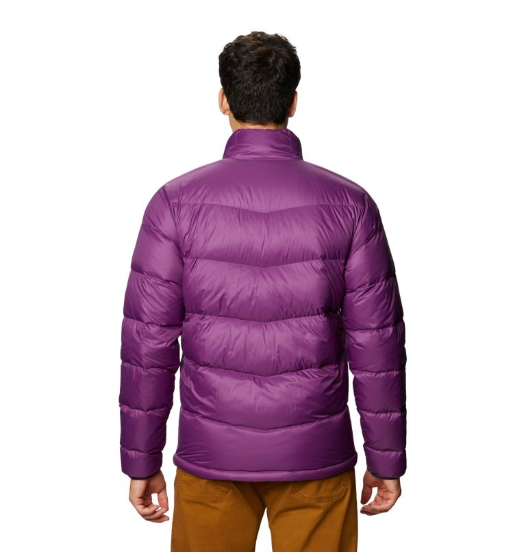 Mt. Eyak™ Down Jacket | 502 | XXL Men's Mt. Eyak™ Down Jacket, Cosmos Purple, back