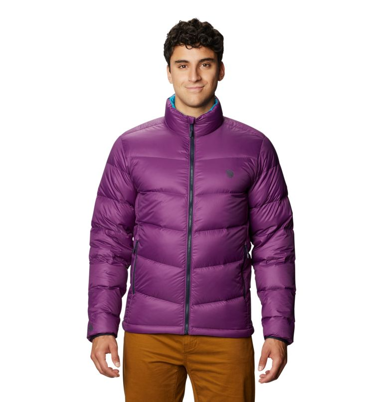 Mt. Eyak™ Down Jacket | 502 | XXL Men's Mt. Eyak™ Down Jacket, Cosmos Purple, front