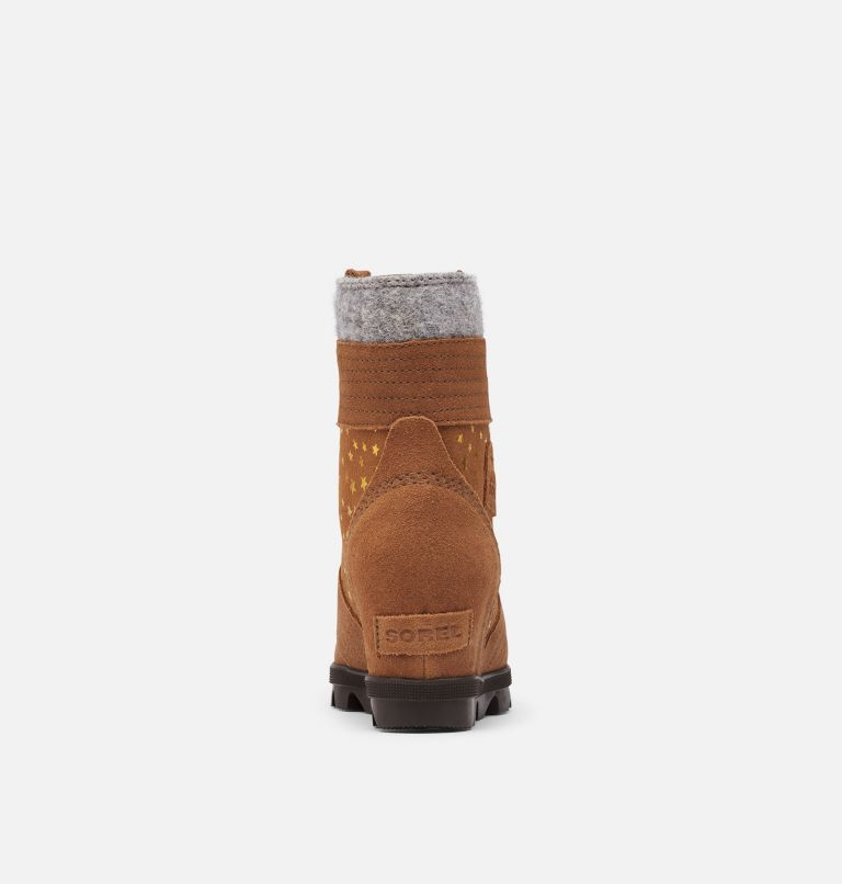 YOUTH LEXIE™ WEDGE | 242 | 4 Youth Lexie™ Wedge Boot, Velvet Tan, back