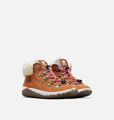 Youth Out N About™ Conquest Boot YOUTH OUT N ABOUT™ CONQUEST | 224 | 1, Camel Brown, Quarry, 3/4 front