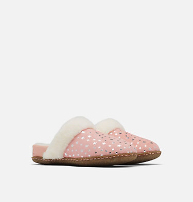 Youth Nakiska™ Slide II Slipper YOUTH NAKISKA™ SLIDE II | 224 | 1, Faux Pink, 3/4 front