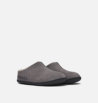 Youth Falcon Ridge™ II Slipper YOUTH FALCON RIDGE™ II | 052 | 4, Quarry, Black, 3/4 front