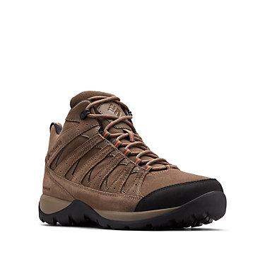 Chaussures De Randonnée Mi-Montantes Imperméables En Cuir Redmond™ V2 Homme REDMOND™ V2 LTR MID WP   089   11.5, Mud, Desert Sun, 3/4 front