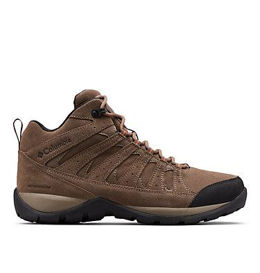 Chaussures De Randonnée Mi-Montantes Imperméables En Cuir Redmond™ V2 Homme REDMOND™ V2 LTR MID WP   089   11.5, Mud, Desert Sun, front
