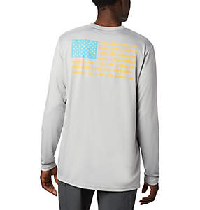 Men's Terminal Tackle PFG Fish Flag™ Long Sleeve Shirt