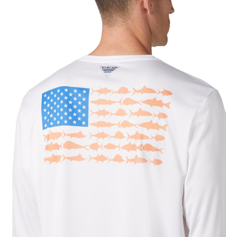 Men's Terminal Tackle PFG Fish Flag™ Long Sleeve Shirt Men's Terminal Tackle PFG Fish Flag™ Long Sleeve Shirt, a2