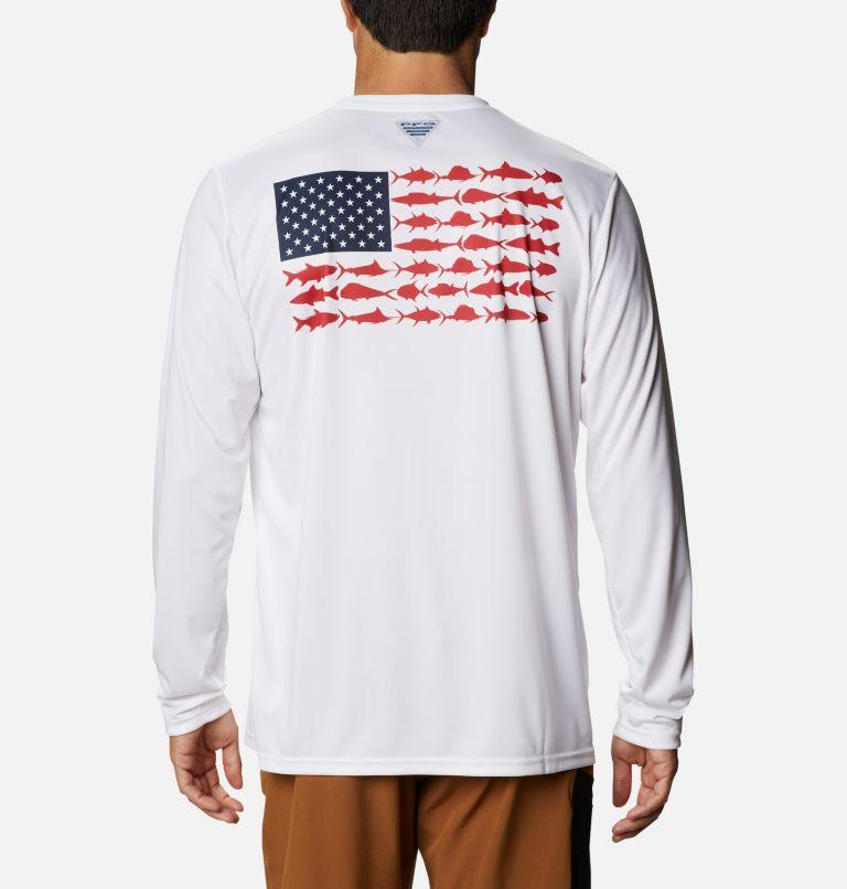 Men's Terminal Tackle PFG Fish Flag™ Long Sleeve Shirt Men's Terminal Tackle PFG Fish Flag™ Long Sleeve Shirt, front