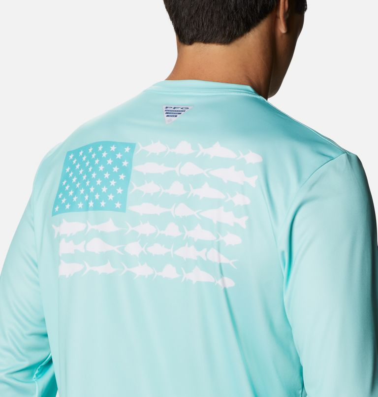 Men's Terminal Tackle PFG Fish Flag™ Long Sleeve Shirt Men's Terminal Tackle PFG Fish Flag™ Long Sleeve Shirt, a3
