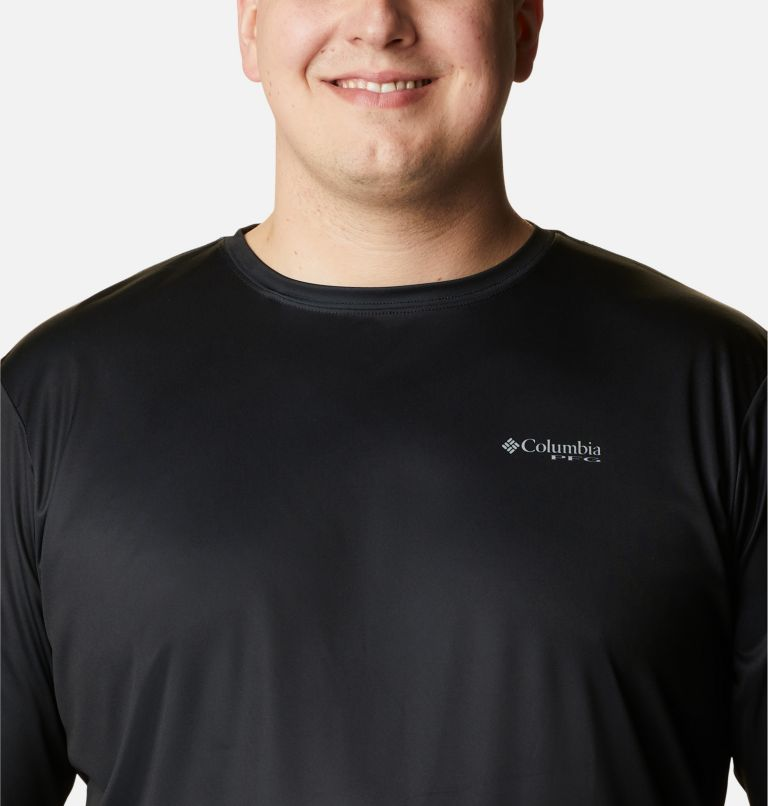 Men's Terminal Tackle PFG Fish Flag™ Long Sleeve Shirt - Big Men's Terminal Tackle PFG Fish Flag™ Long Sleeve Shirt - Big, a2