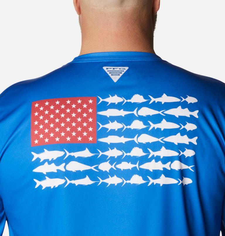 Men's Terminal Tackle PFG Fish Flag™ Long Sleeve Shirt - Big Men's Terminal Tackle PFG Fish Flag™ Long Sleeve Shirt - Big, a3