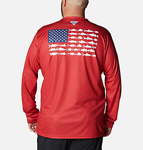 Men's Terminal Tackle PFG Fish Flag™ Long Sleeve Shirt - Big