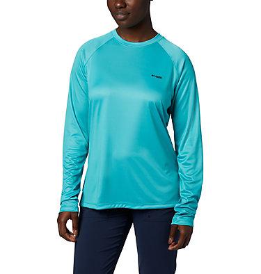 Women's Tidal Tee PFG Printed Triangle™ Long Sleeve Shirt Tidal Tee PFG Printed Triangle™ LS | 357 | L, Dolphin, Tropical Print, back