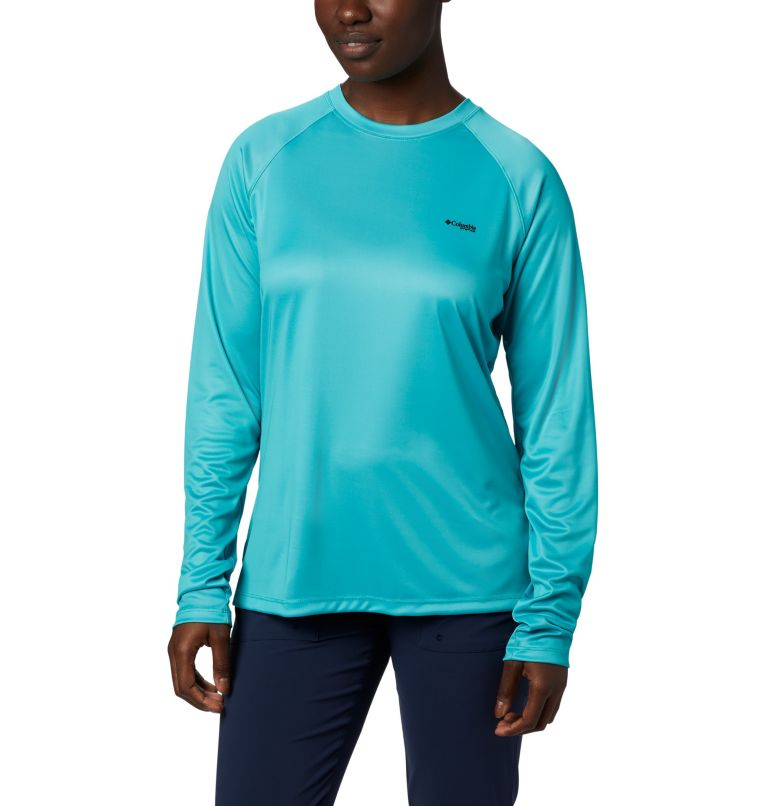 Women's Tidal Tee PFG Printed Triangle™ Long Sleeve Shirt Women's Tidal Tee PFG Printed Triangle™ Long Sleeve Shirt, back