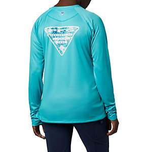 Women's Tidal Tee PFG Printed Triangle™ Long Sleeve Shirt