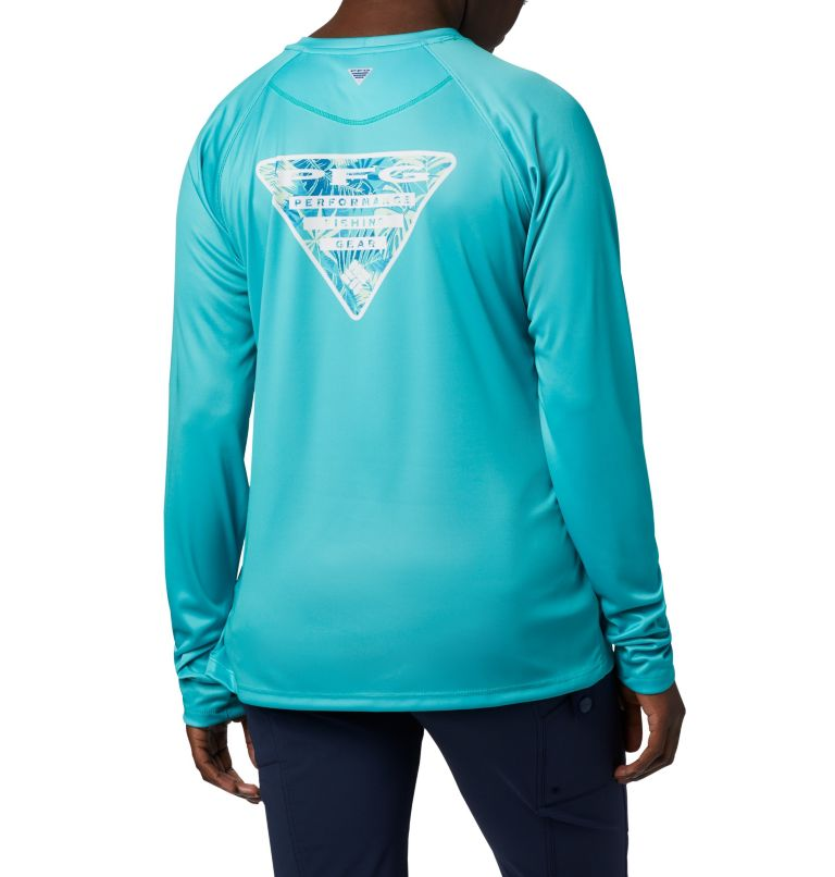 Women's Tidal Tee PFG Printed Triangle™ Long Sleeve Women's Tidal Tee PFG Printed Triangle™ Long Sleeve, front