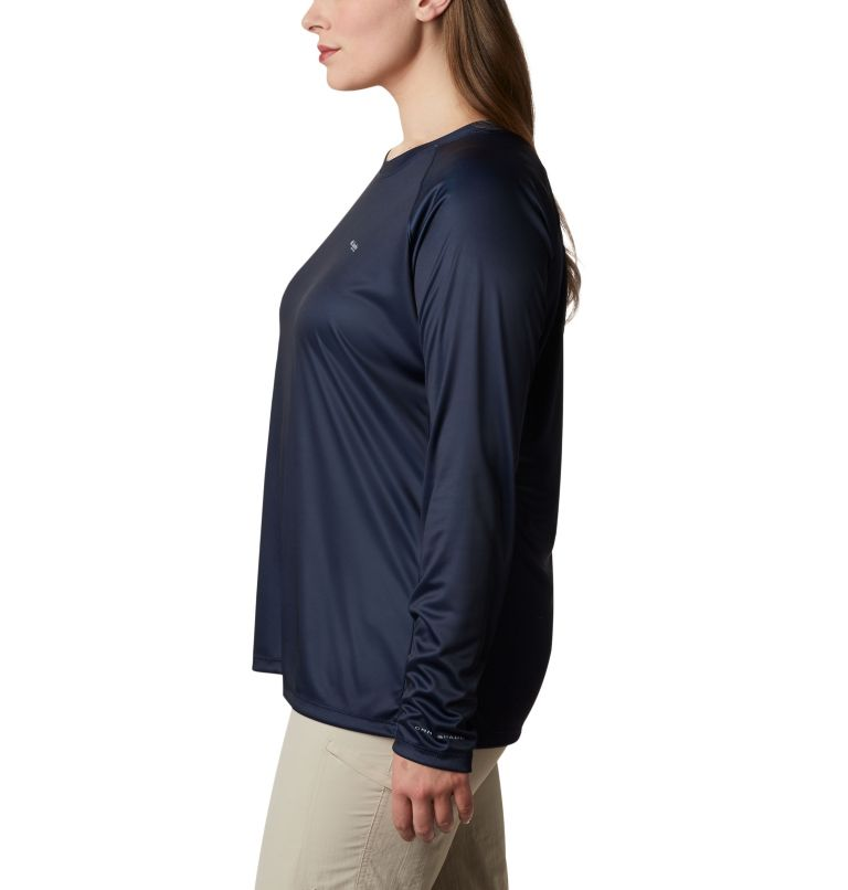 Women's Tidal Tee PFG Printed Triangle™ Long Sleeve Shirt - Plus Size Women's Tidal Tee PFG Printed Triangle™ Long Sleeve Shirt - Plus Size, a1