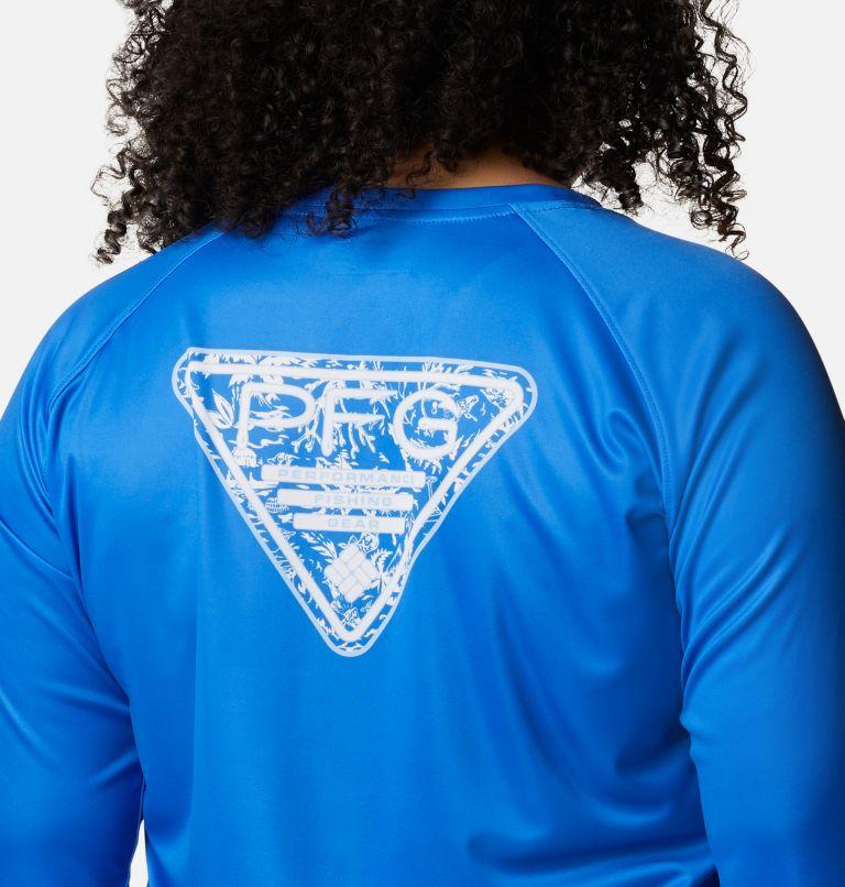Women's Tidal Tee PFG Printed Triangle™ Long Sleeve - Plus Size Women's Tidal Tee PFG Printed Triangle™ Long Sleeve - Plus Size, a3