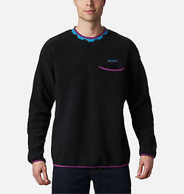 Unisex Wapitoo™ Fleece Pullover Wapitoo™ Fleece Pullover | 410 | L, Black, Plum, front