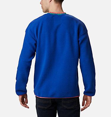 Unisex Wapitoo™ Fleece Pullover Wapitoo™ Fleece Pullover | 410 | L, Lapis Blue, Bright Geranium, back