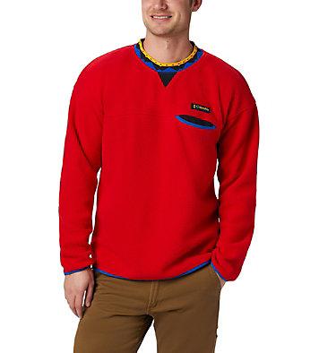 Unisex Wapitoo™ Fleece Pullover Wapitoo™ Fleece Pullover | 410 | L, Mountain Red, Azul, Black, front