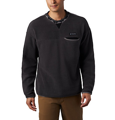 Wapitoo™ Fleece-Pullover für Männer Wapitoo™ Fleece Pullover | 011 | L, Shark, City Grey, Black, front