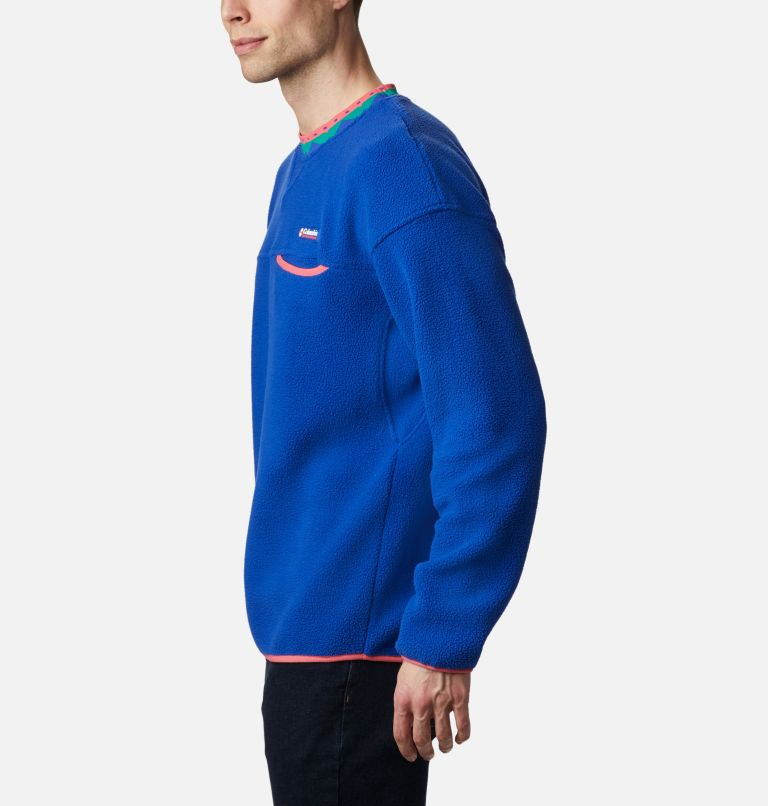 Wapitoo™ Fleece Pullover | 410 | XXL Men's Wapitoo™ Fleece Pullover, Lapis Blue, Bright Geranium, a1