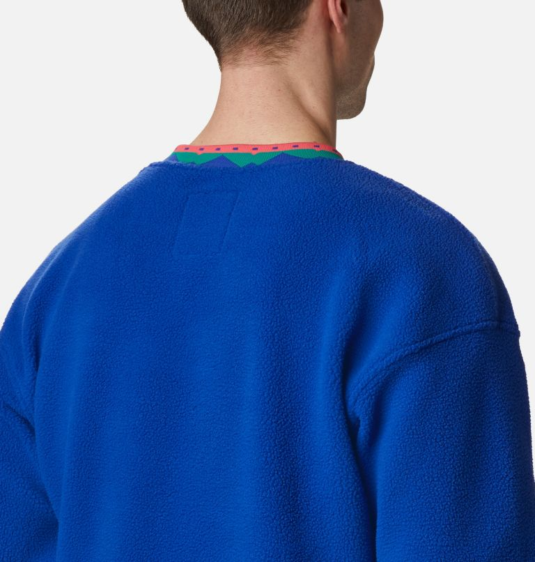 Wapitoo™ Fleece Pullover | 410 | XXL Men's Wapitoo™ Fleece Pullover, Lapis Blue, Bright Geranium, a3