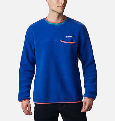 Men's Wapitoo™ Fleece Pullover Wapitoo™ Fleece Pullover | 011 | L, Lapis Blue, Bright Geranium, front