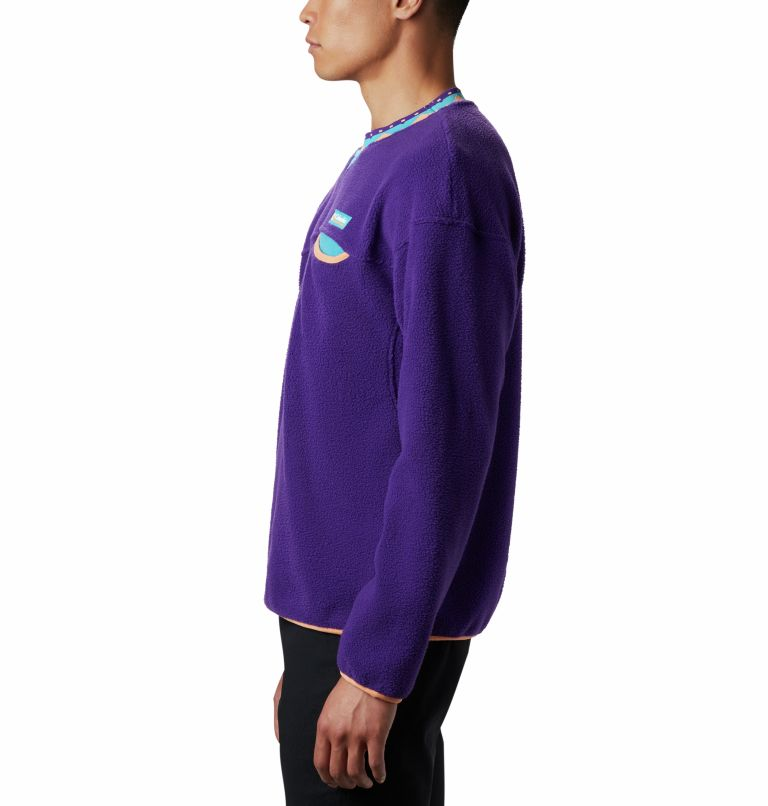 Wapitoo™ Fleece Pullover | 517 | XXL Men's Wapitoo™ Fleece Pullover, Vivid Purple, a1