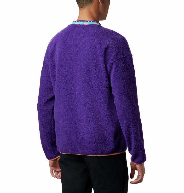 Wapitoo™ Fleece Pullover | 517 | XXL Men's Wapitoo™ Fleece Pullover, Vivid Purple, back
