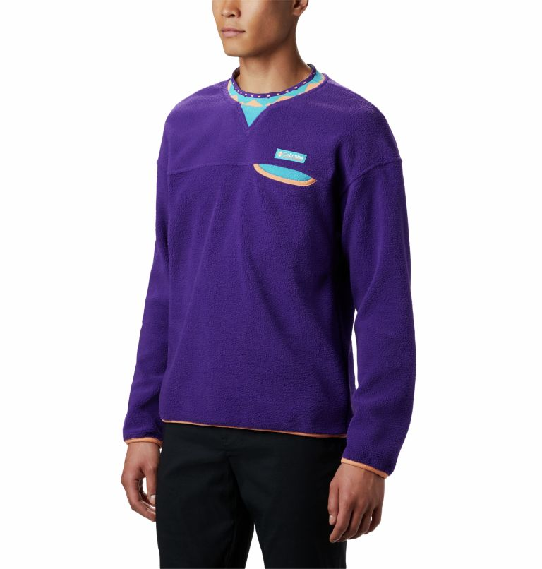 Wapitoo™ Fleece Pullover | 517 | XXL Men's Wapitoo™ Fleece Pullover, Vivid Purple, front
