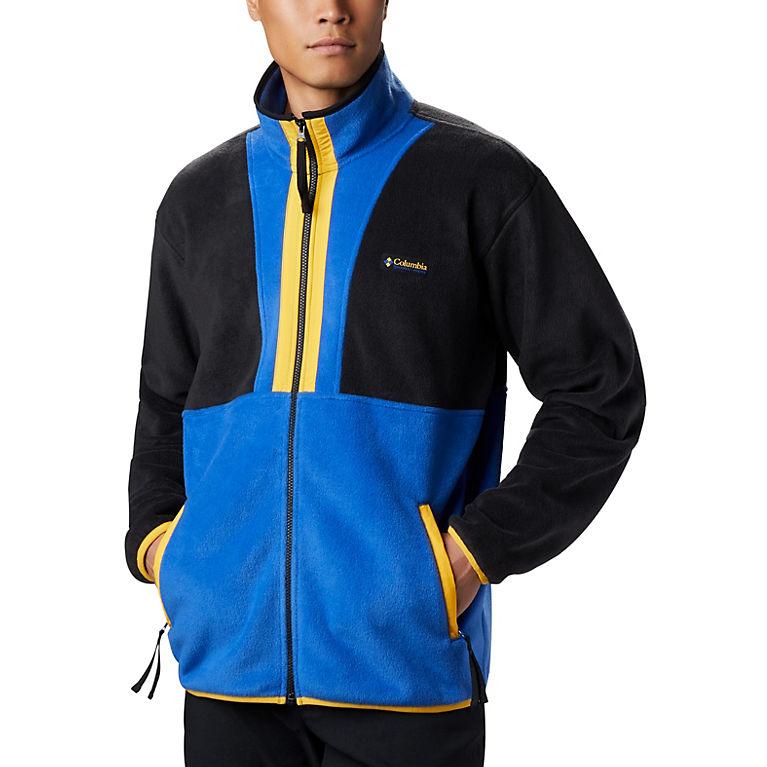 Columbia Sportswear Back Bowl Full Zip Fleece Jacket S