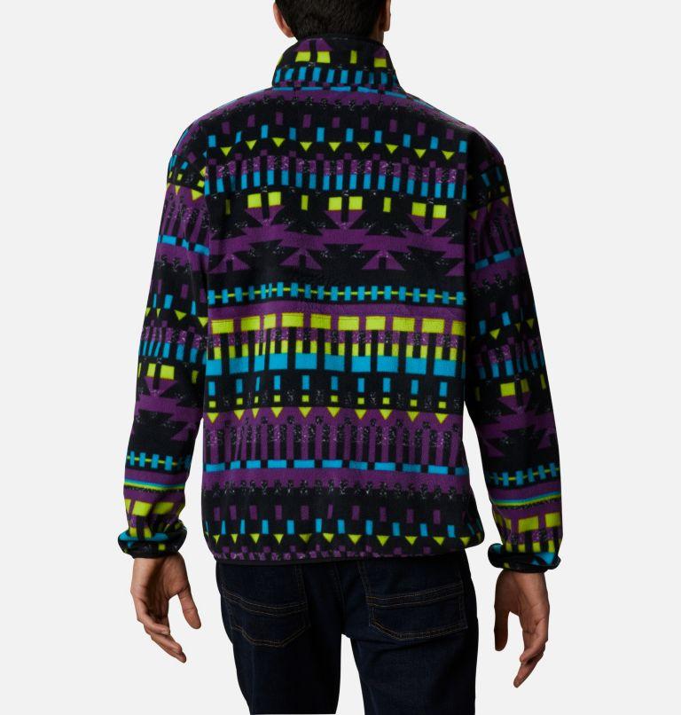 Back Bowl™ Full Zip Fleece | 010 | XXL Men's Back Bowl™ Fleece, Black Print, Black, back