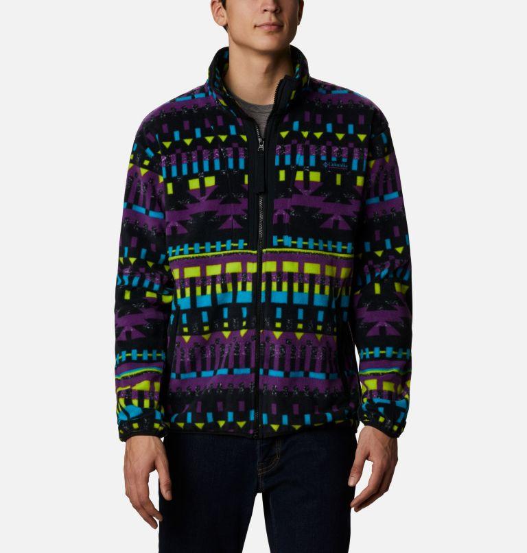 Back Bowl™ Full Zip Fleece | 010 | XXL Men's Back Bowl™ Fleece, Black Print, Black, front