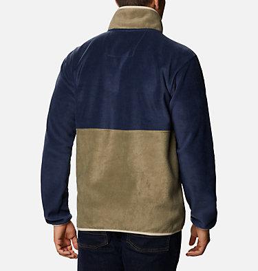 Men's Back Bowl™ Fleece Back Bowl™ Full Zip Fleece | 010 | S, Stone Green, Collegiate Navy, back