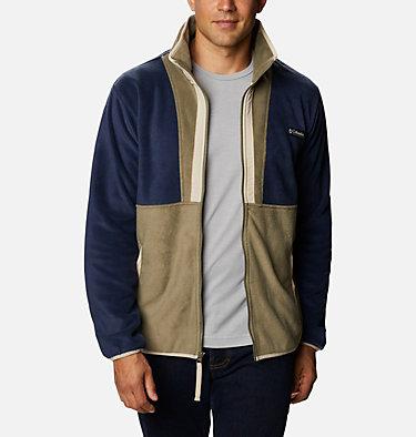 Polaire Back Bowl™ homme Back Bowl™ Full Zip Fleece | 010 | S, Stone Green, Collegiate Navy, front