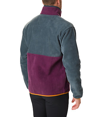 Men's Back Bowl™ Fleece Back Bowl™ Full Zip Fleece | 494 | XL, Night Shadow, Black Cherry, back