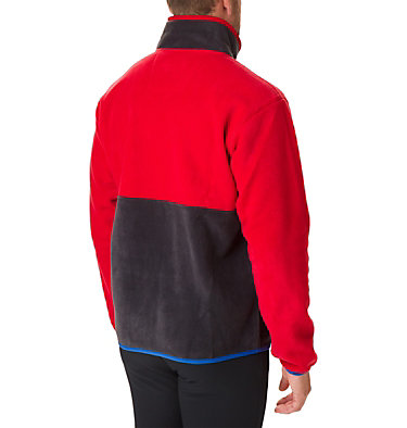 Men's Back Bowl™ Fleece Back Bowl™ Full Zip Fleece | 494 | XL, Mountain Red, Black, Azul, back