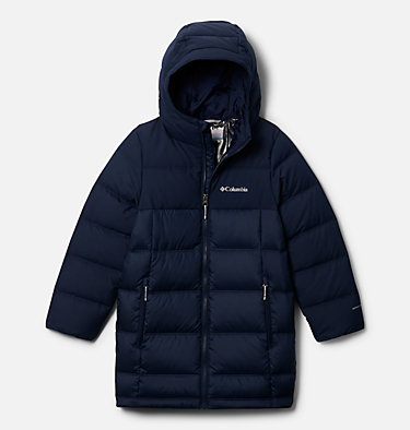 Boys' Bear Hunt Ridge™ Down Jacket Bear Hunt Ridge™ Down Jacket | 465 | S, Collegiate Navy, Collegiate Navy, front