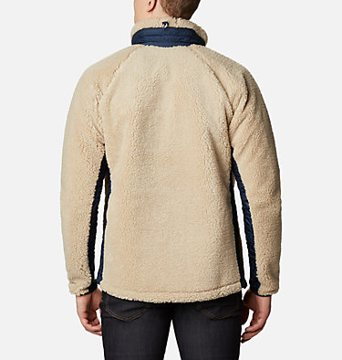 Men's Archer Ridge™ Sherpa Fleece Jacket Archer Ridge™ Jacket | 010 | M, Ancient Fossil, Collegiate Navy, back