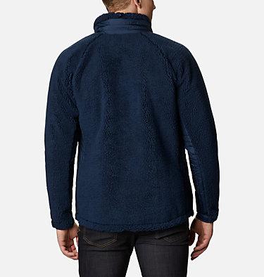 Men's Archer Ridge™ Sherpa Fleece Jacket Archer Ridge™ Jacket   010   M, Collegiate Navy, Bright Chartreuse, back